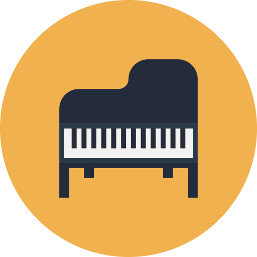 钢琴与笔记 音樂 App LOGO-硬是要APP