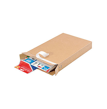 Packbox 240x165x46 brun