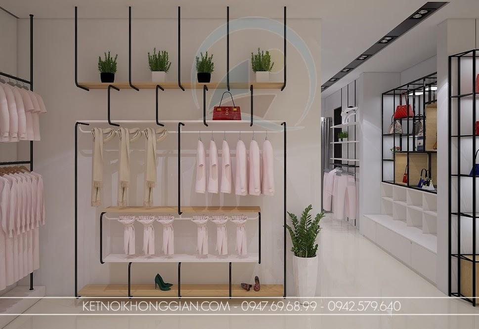thiết kế shop thời trang nữ đầy sức sống
