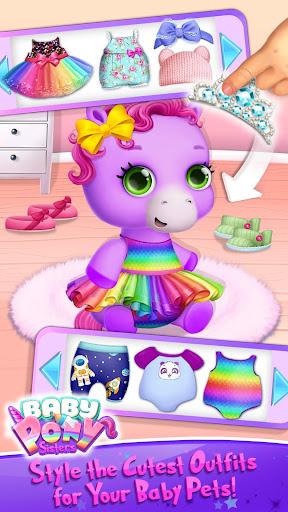 Baby Pony Sisters - Virtual Pet Care & Horse Nanny 5.0.14002 screenshots 3