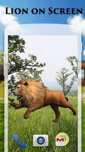 App Lion On Screen Scary Joke APK for Windows Phone