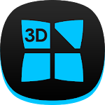 Next Launcher Theme Dafna B 3D Icon