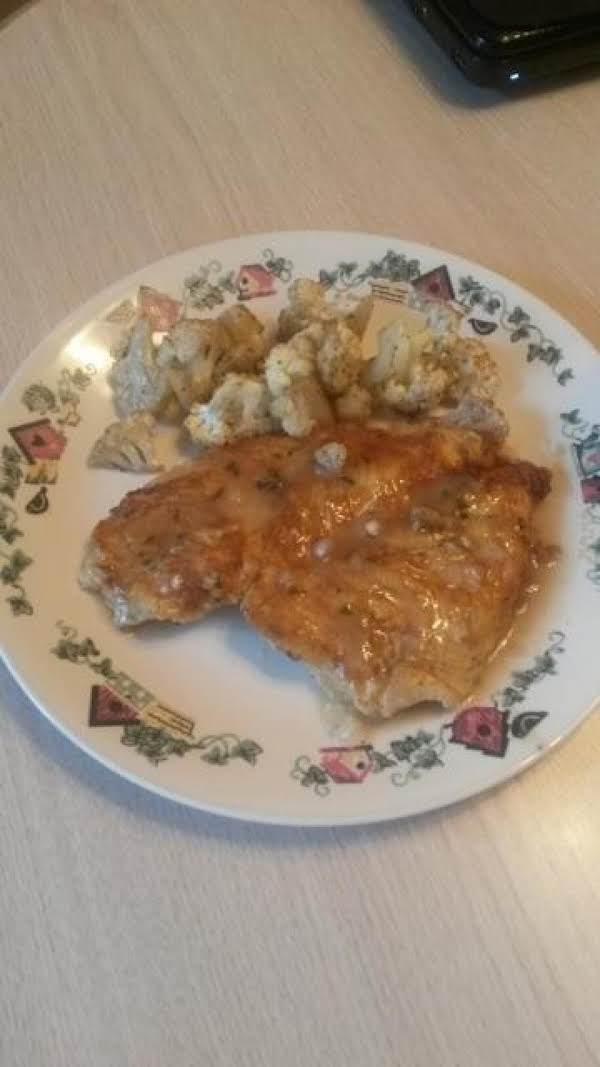 Flounder Filet Francese