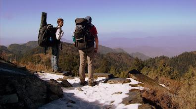 Photo: Ausblick ins hügelige Himalaya Vorland