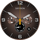Analog Clock Dayson Live Wallpaper