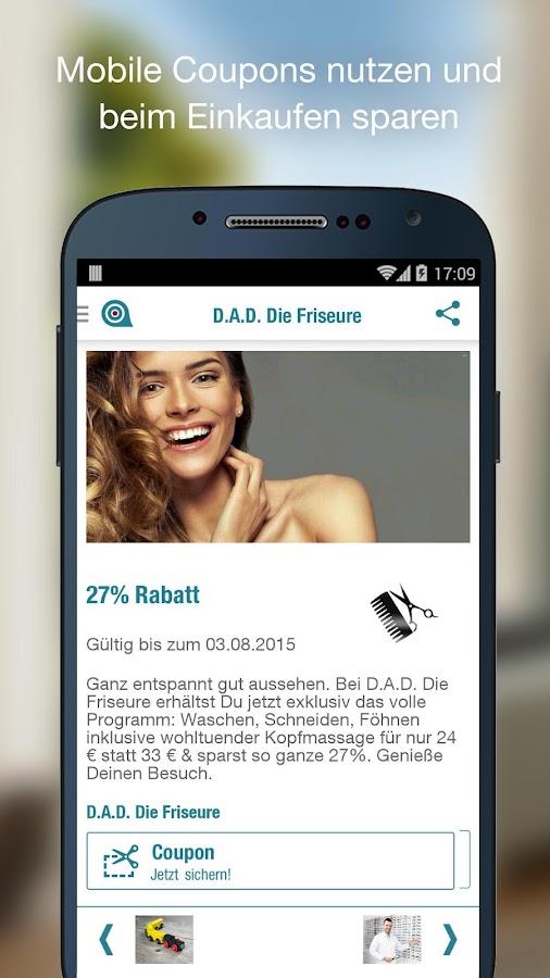 GETTINGS - Coupons & Angebote - screenshot