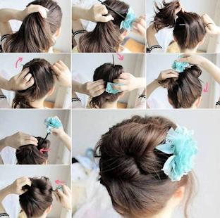 Easy Hairstyle Ideas Screenshot Thumbnail