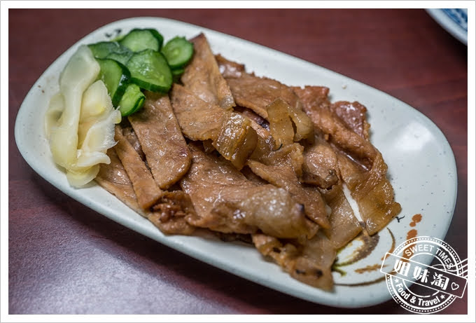 老周燒肉飯燒肉片