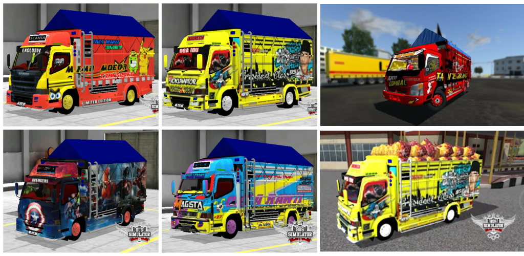 Livery Mod Truck Canter Bussid 4 0 Apk Download Livery Mod Bussid Truckcanter Apk Free