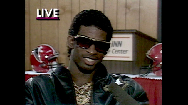 Deion Sanders' Prime Time personality