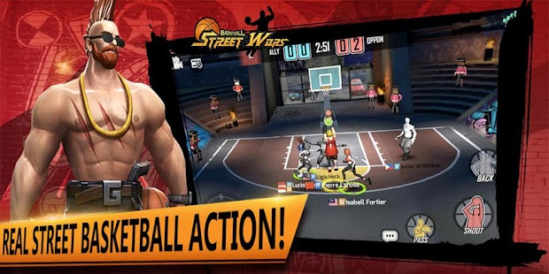 Street Wars: Basketball- screenshot thumbnail
