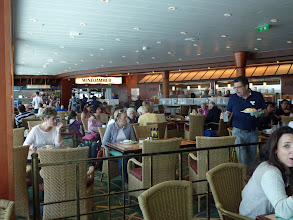 Photo: Lunch buffet was available after check-in