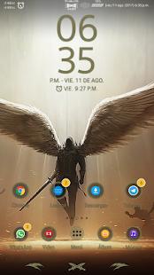 « AngelSán » Xperia™ Theme - náhled
