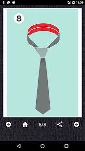 How to Tie a Tie Screenshot
