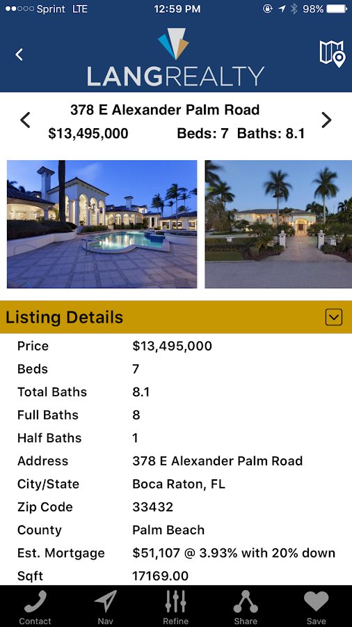 Lang Realty- screenshot