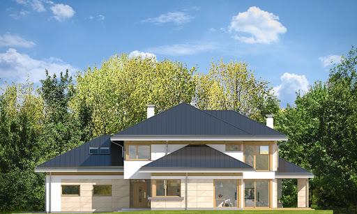 Dom z widokiem 3 F - Elewacja prawa
