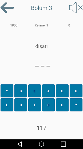 Word Finding Game (Turkish - English) 1.0 screenshots 3
