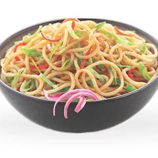 Veg Hakka Noodles.
