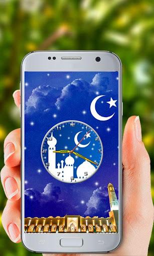 Islamic Clock Live Wallpaper screenshot 2