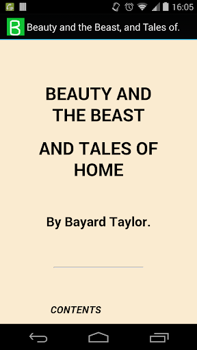 Beauty and Beast Tale of Home