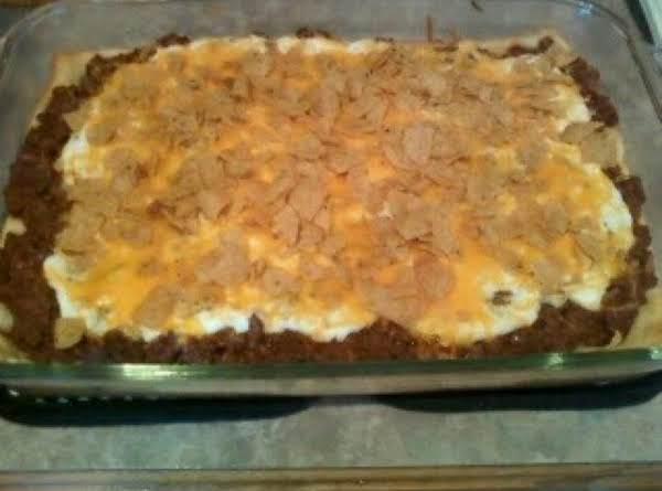 Crescent Taco Bake Recipe
