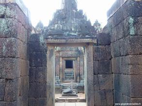 Photo: #003-Le temple hindouiste de Banteay Srei. Site classé au Patrimoine mondial de l'Unesco.