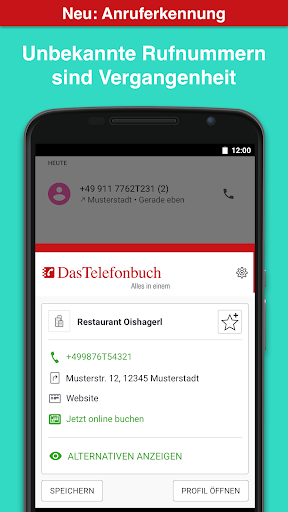 Das Telefonbuch with caller ID and spam protection 6.3.1 screenshots 2