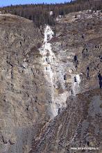 Photo: Водопад, вернее, уже - ледопад.