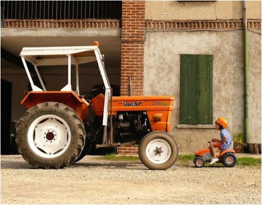 Nella vecchia fattoria di blanche7