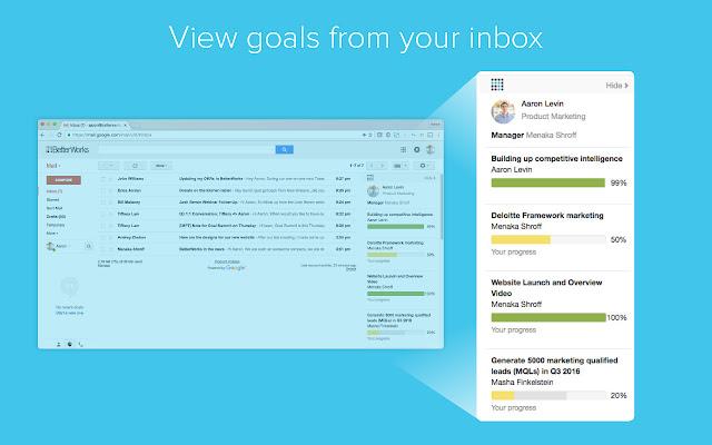 BetterWorks for Gmail