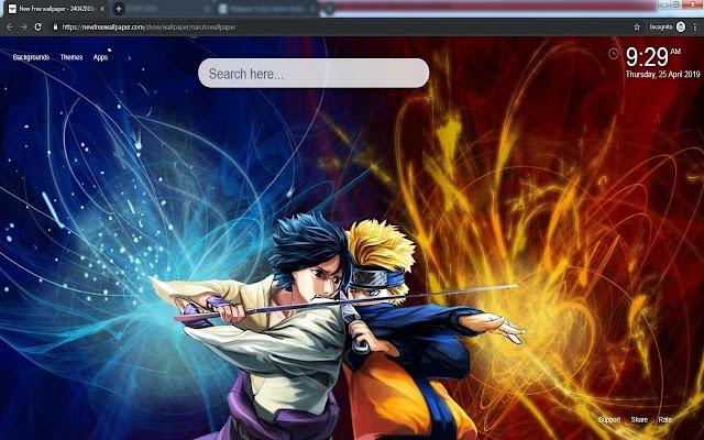 Naruto Hd Temas De Fondos De Pantalla