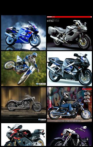 オートバイの画像