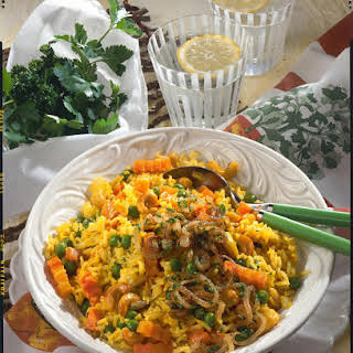 Spiced Vegetable Rice.