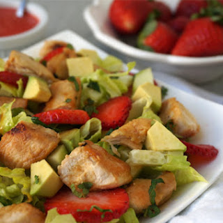 Honey-Lime Chicken & Strawberry Salad