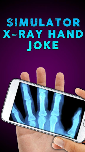 Simulator X-ray Hand Joke