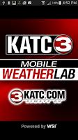 Screenshot of KATC WX