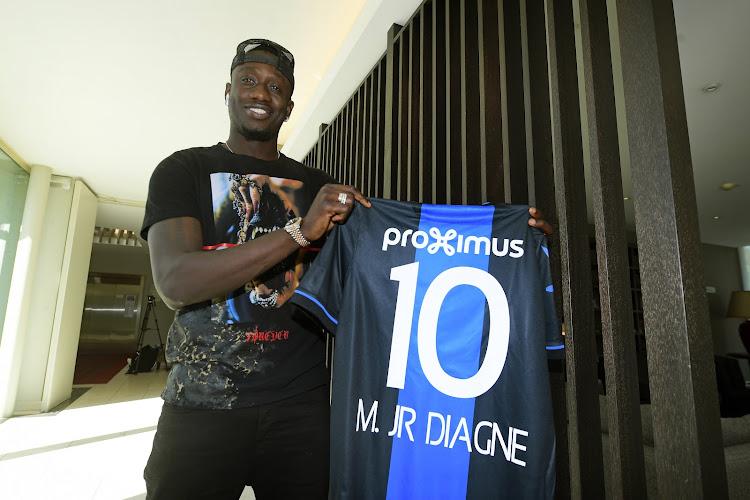 """🎥 Mbaye Diagne est Blauw & Zwart : """"J'ai fait le bon choix"""""""