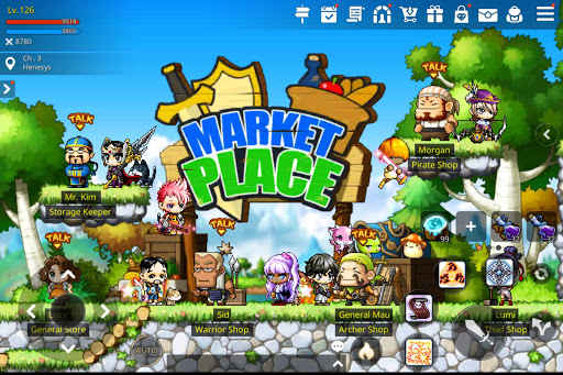 MapleStory M 1.2703.273 gameplay | by HackJr.Pw 12