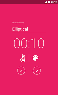 Interval Timer - HIIT TABATA CROSSFIT- screenshot thumbnail