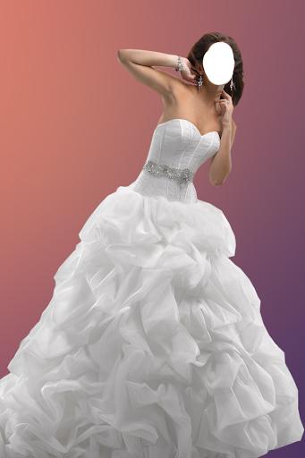 Woman Wedding Photo Suit