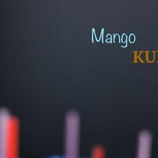 Mango kulfi- Indian ice cream.