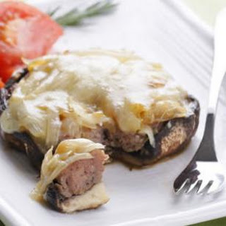 Turkey-Stuffed Portobello Mushrooms