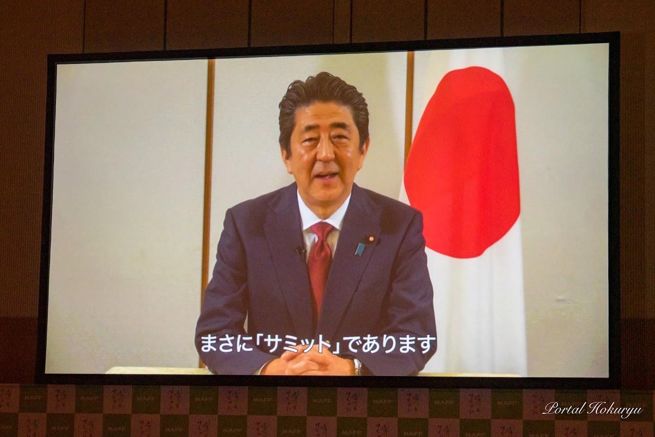 内閣総理大臣ビデオメッセージ