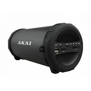 Boxa portabila Akai ABTS-12C, Radio FM, Karaoke, Negru