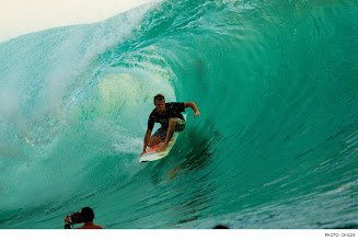Photo: Photo of the Day: Taj Burrow, Desert Point. Photo: Childs #Surfer #SurferPhotos
