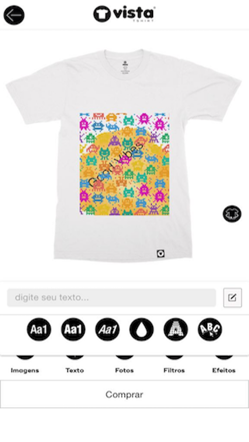 Vista TShirt- screenshot