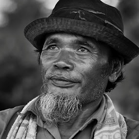 Hope by Achmad Tibyani - People Portraits of Men ( bw, simangunsong, portrait, man, character )