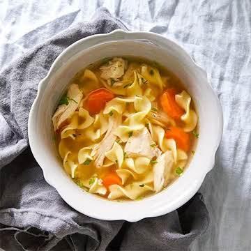 Quick Cooker Chicken Noodle Soup
