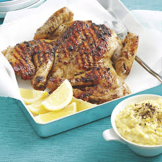 Spiced Chicken with Creamed Corn.