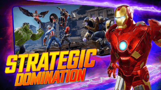 MARVEL Strike Force MOD (Unlimited Energy) 3